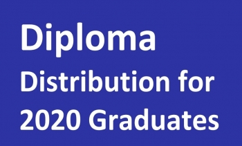 Diploma Distribution for 2020 Graduates of Postgraduate Programmes