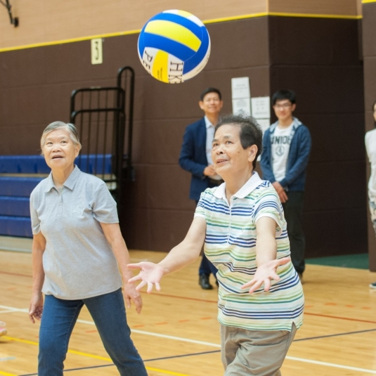 Light volleyball exercise helps improve functional fitness of older adults
